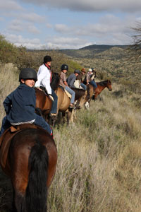 HOrse riding Borana Ranch