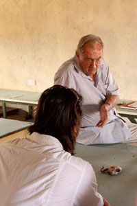 Turkana Basin Institue with dr. Richard Leakey