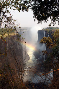 Victoria Falls from the Zmbian side