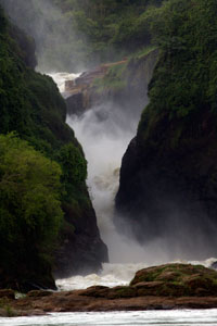 Murchison Falls, Queen Elizabeth National Park, Uganda
