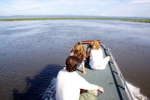 On the Nile at Queen Elizabeth National Park