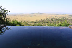 View from Sasakwa Lodge, Singita Grumeti Reserves