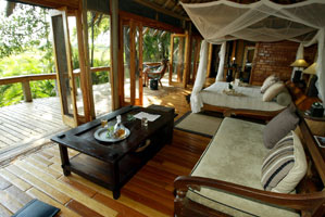 A room at Jao Camp, Botswana