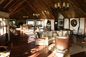 Living room, Kifaru House Lewa Downs
