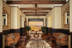 Main Hall, Sasakwa, Singita Grumeti Reserves