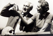 Lara's grandparents Drs. Louis and Mary Leakey