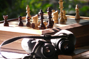 Chess in camp